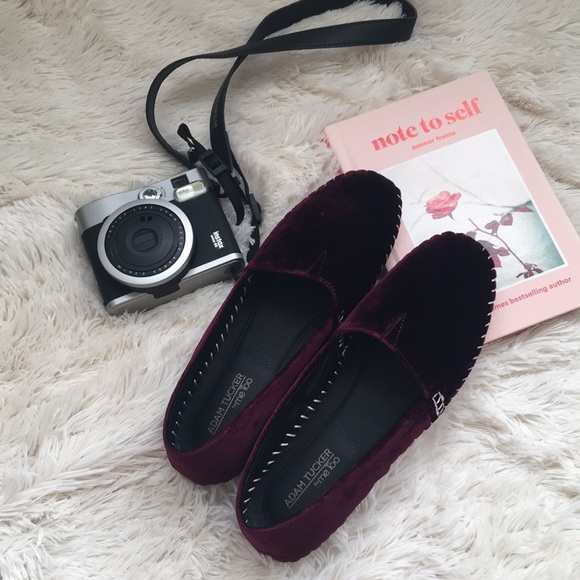 fb69a7b9ad Adam Tucker Velvet Loafer